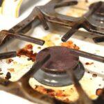 éliminer la graisse de la cuisine familliale